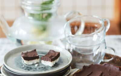 Chocolade-kokosreep