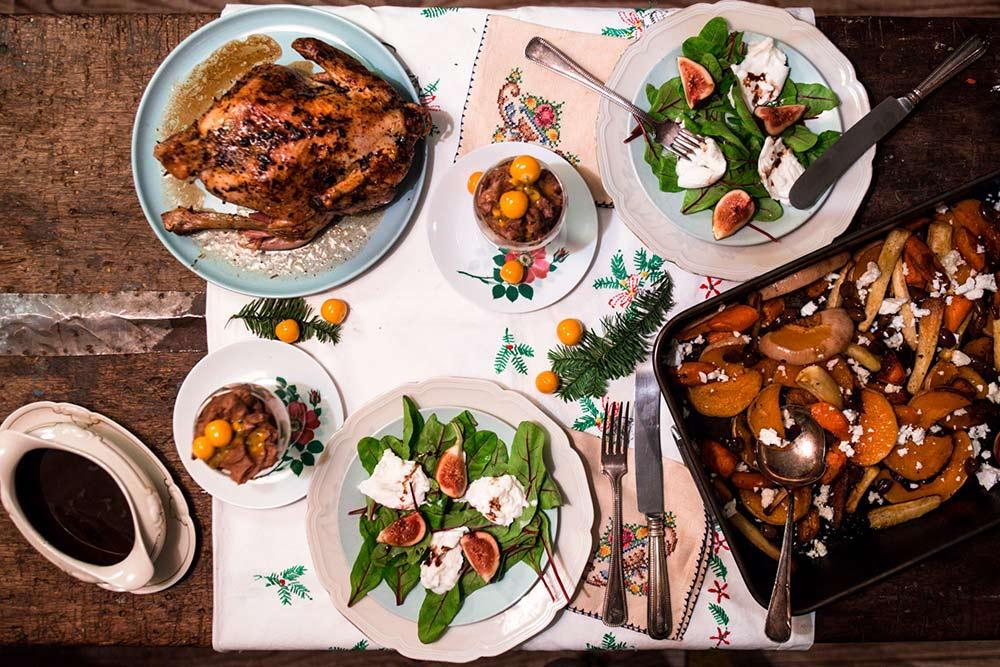 De kerstmaaltijd is vaak de gezondste maaltijd van het jaar