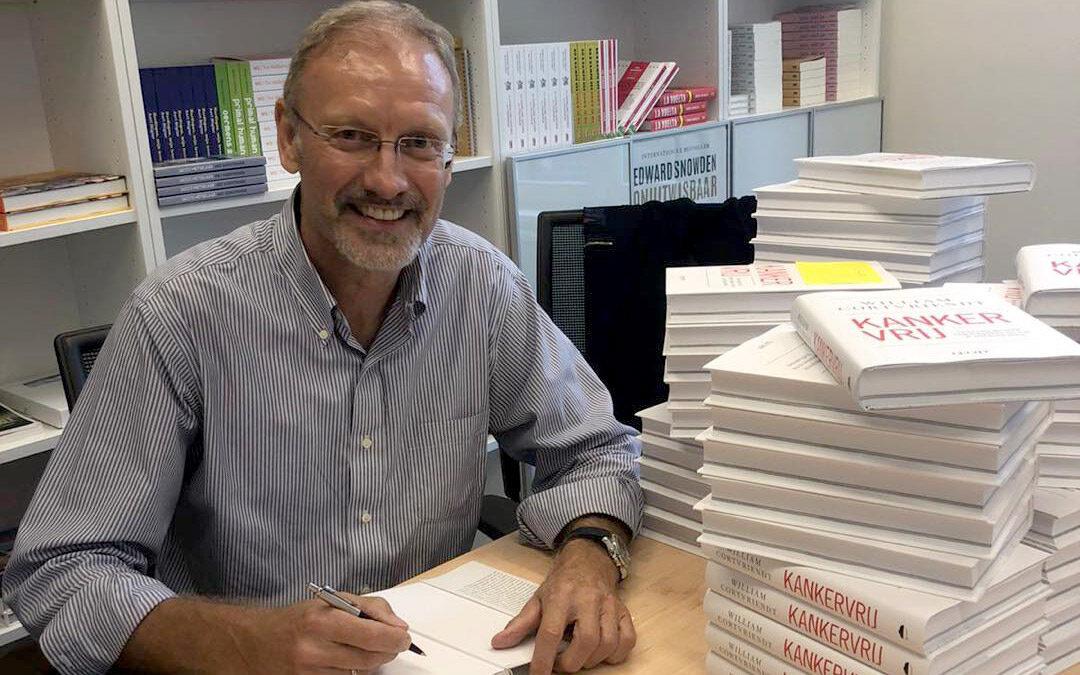 In gesprek met William Cortvriendt over zijn nieuwe boek Kankervrij